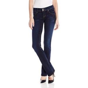 Hudson Blue Low Rise Beth Baby Bootcut Jeans Pants